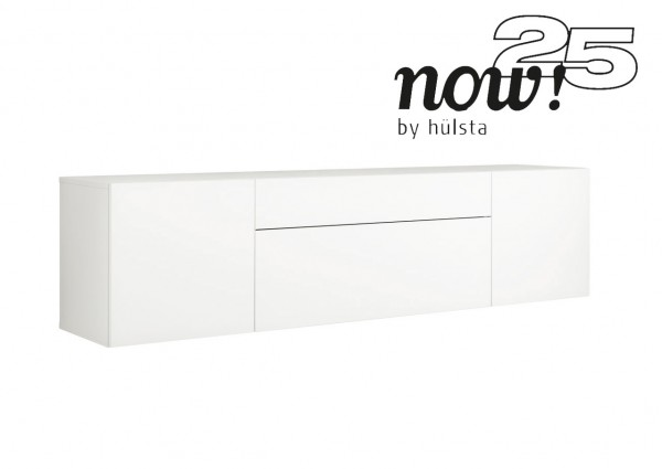 now! 25 - for you Hängesideboard (2 Türen/2 Schubladen)